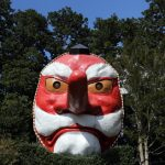 秋葉山,秋葉寺の火祭りのタコはお守りに